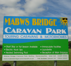 Mabws Caravan and mobile home park